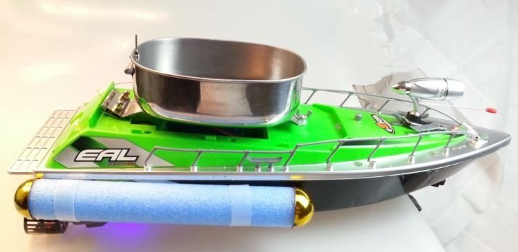 самодельный кораблик для завоза прикормки купить