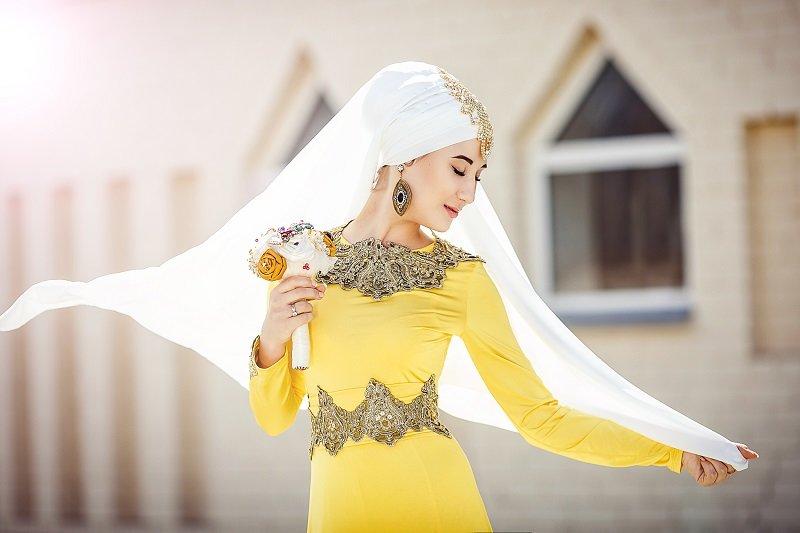 Платья Невесты На Татарской Свадьбе Фото