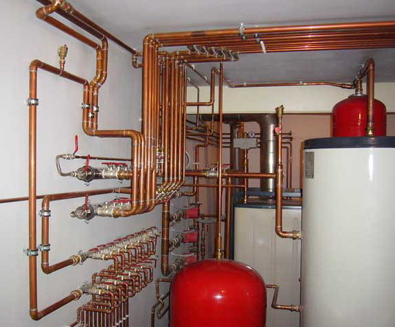 Отопление в частном доме, монтаж котла, тепловой расчет