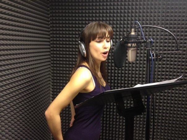 запись песни в звукозаписывающей студии