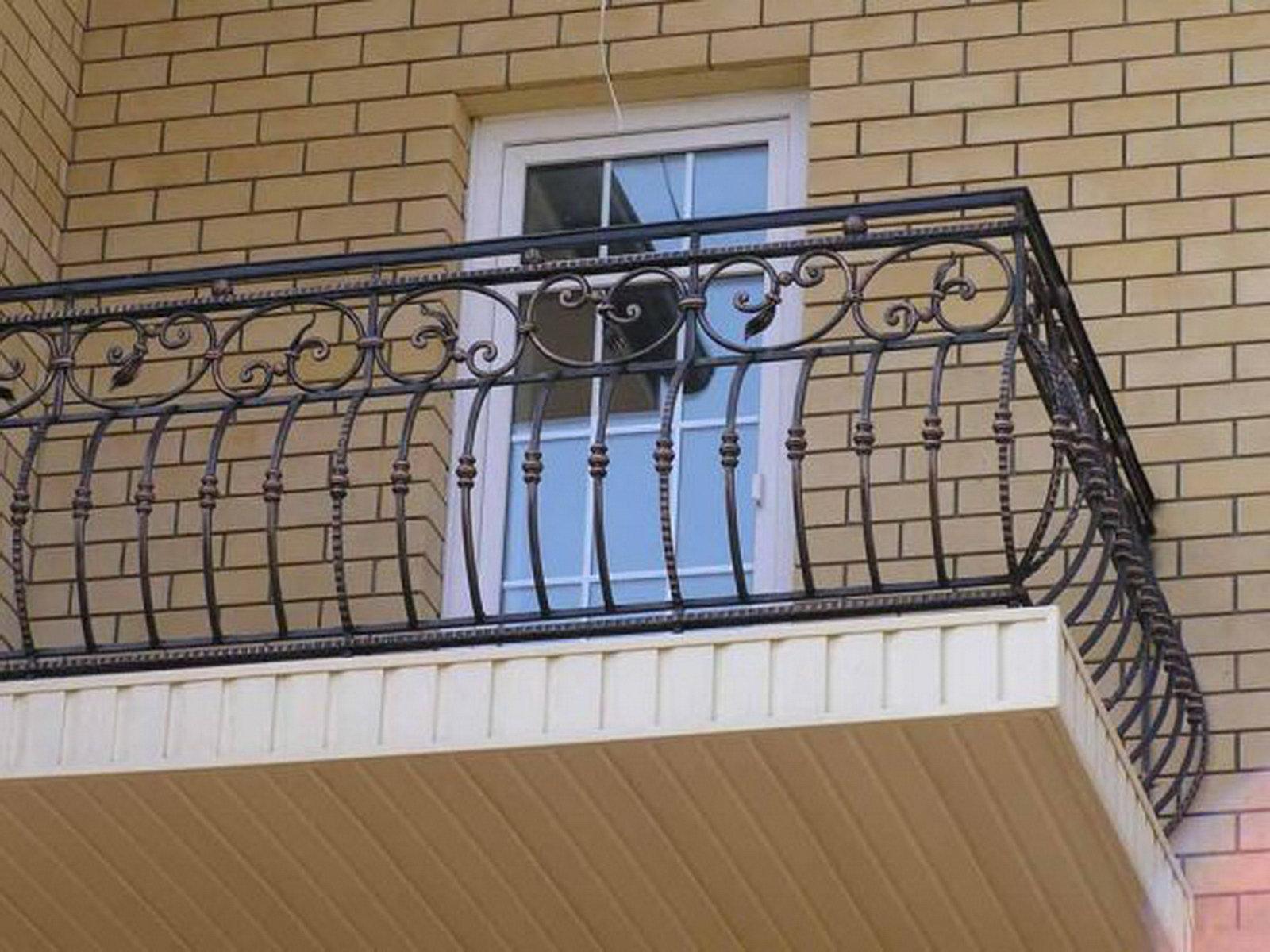Кованые перила и балконные ограждения - ремесленник.