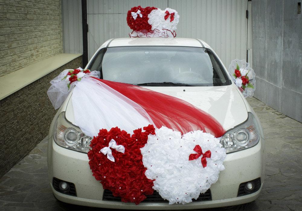 Б у свадебные ленты на машины