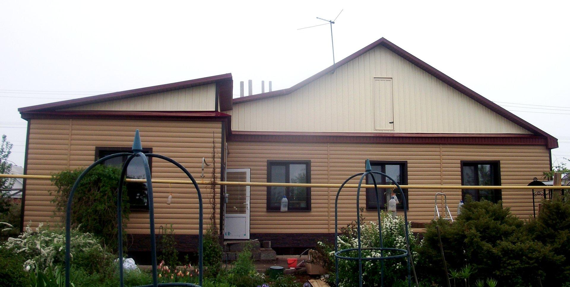 Сайдинг цвета карамель фото домов