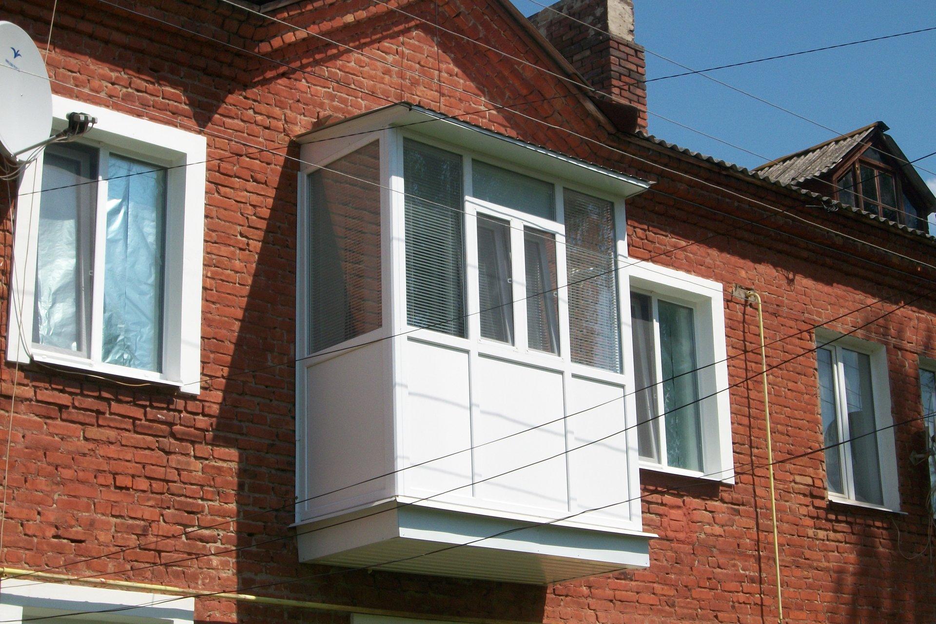 Балконы под ключ в киеве. комплексный ремонт и остекление ба.